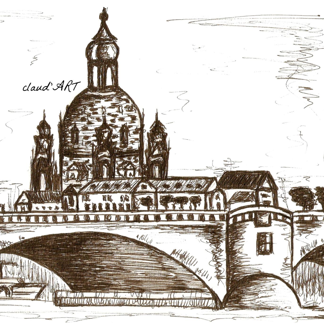Canalettoblick Dreden