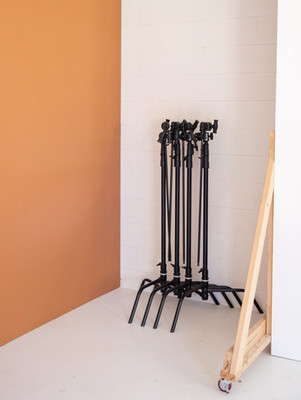 The C-Stand: The studio's most useful tool.
