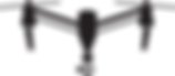 DJI Inspire 2 Drone Icon Black