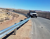 California Highway Guardrail