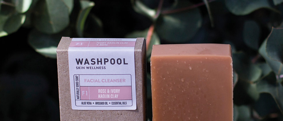 Rose & Ivory Kaolin Clay [FACIAL CLEANSER]