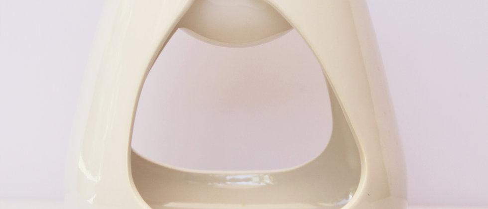 White 2-Side cut out gloss modern burner