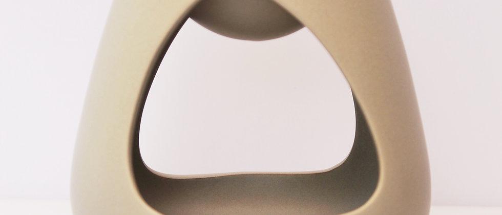 Taupe 2-Side cut out matt modern burner