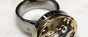 15 Silver Bird on Gold Base
