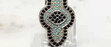 03 Macrame Rhinestone Bracelet
