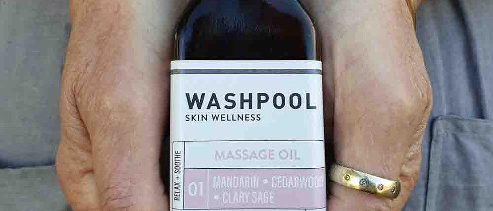 Massage Oil · Mandarin · Cedarwood · Clary Sage 100mL