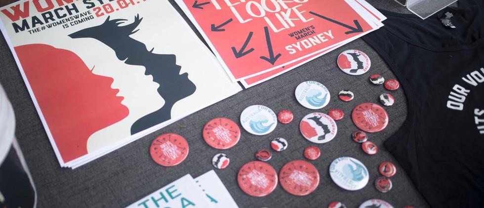 Wom*n's March - Sydney