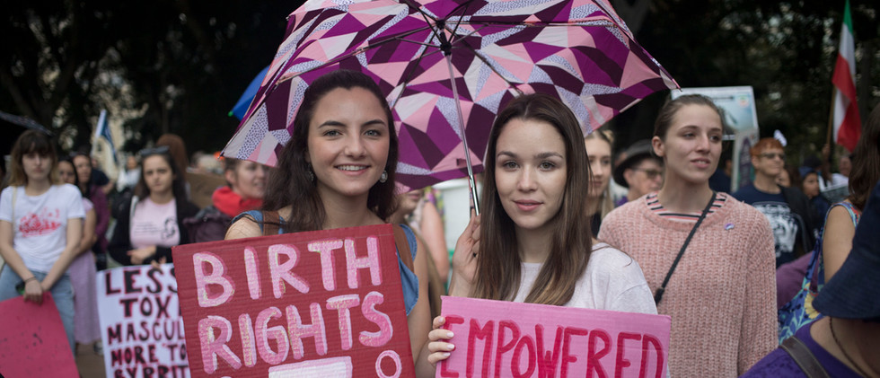 Rally to make Abortion Legal