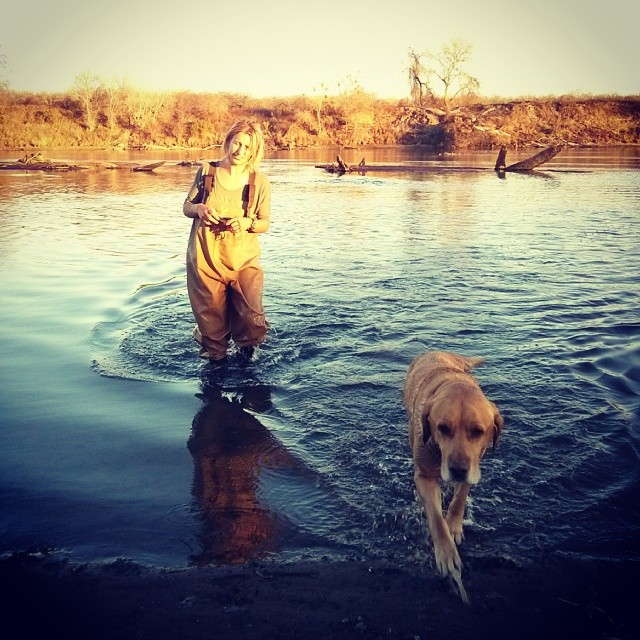Water sampling with Bruce