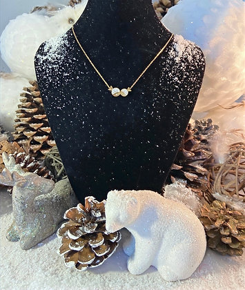 Collier poissons- bisous