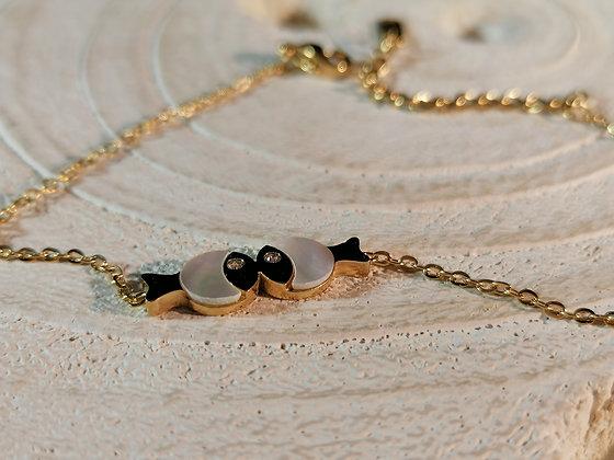 Bracelet poissons bisoux