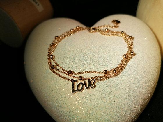 Bracelet triple Love