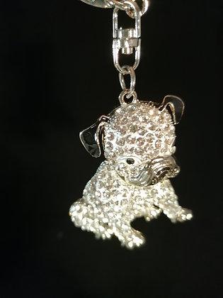 Porte clés Bijoux de sac petit bouledogue