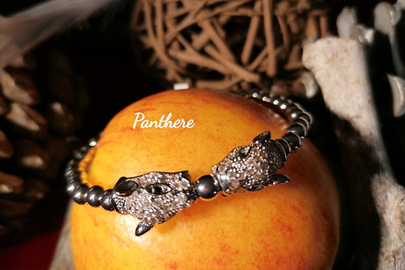 Bracelet perles et zirconium