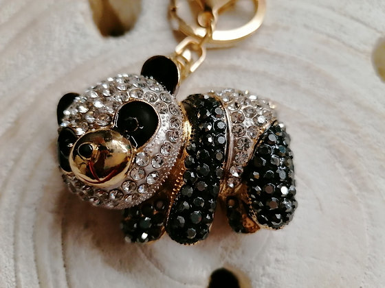 Porte clés Bijoux de sac Panda