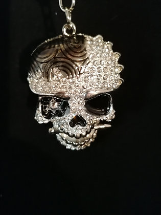 Porte clés Bijoux de sac grande tête de mort