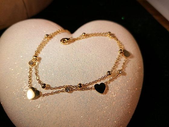 Bracelet double chaines