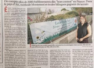 Article La Provence 28-08-2017
