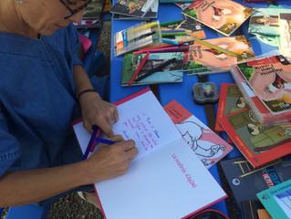Journée littéraire avec Calouan