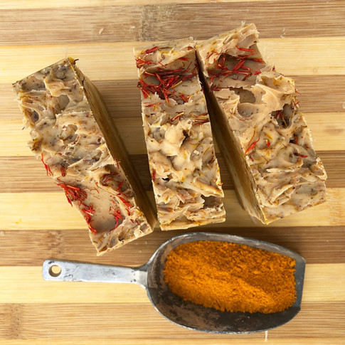 Saffron & Turmeric Soap
