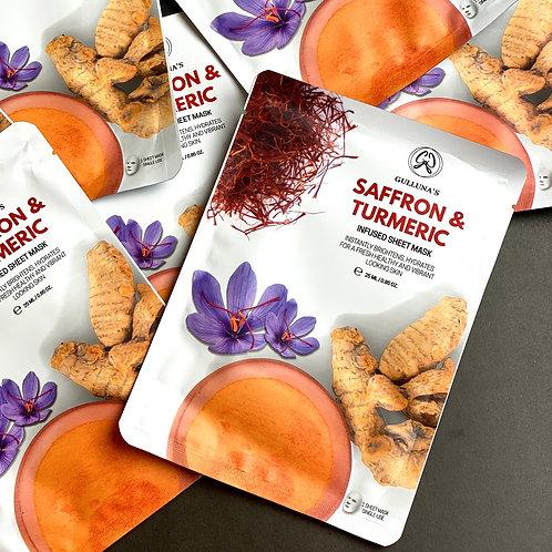 Saffron & Turmeric Sheet Mask