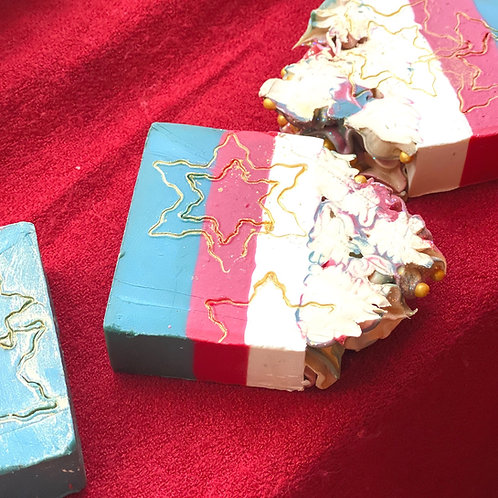 Christmas Soap Bars