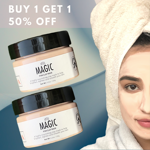 Miss MAGIC Pink Clay Mask (BUY 1 GET 1 50% OFF)