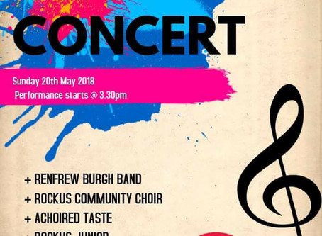 ONE WEEK TO GO! - Family Concert on Sunday 20th May