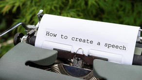Creating a Speech