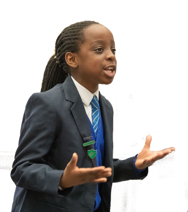 Learning to speak with confidence in Primary School