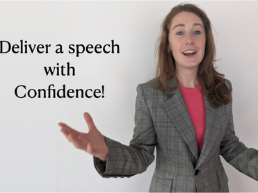 Deliver a speech with confidence