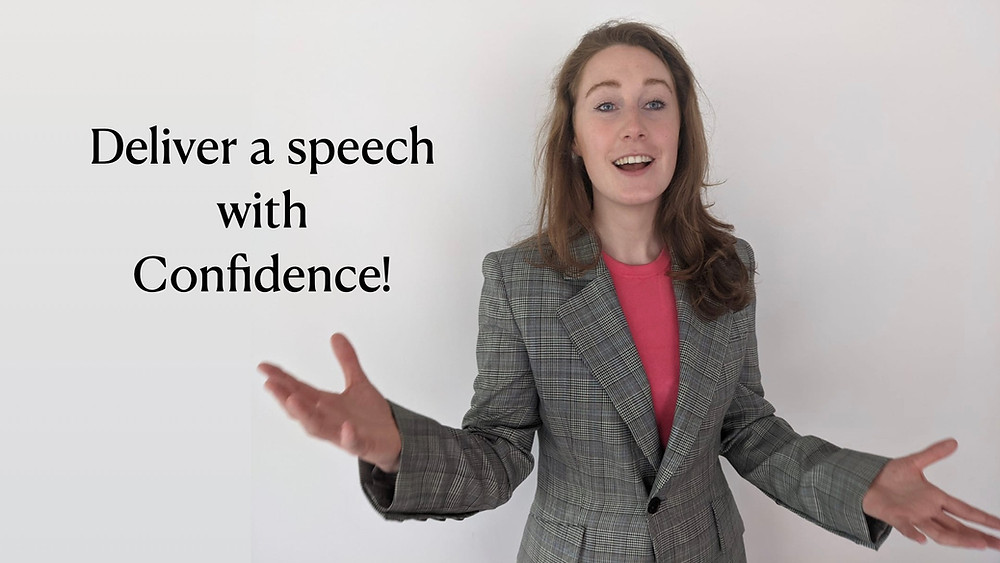 Woman Public Speaking