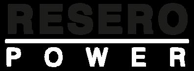Resero Power Logo v1.0 (white to go on r