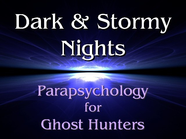 Dark & Stormy Nights Neil McNeill