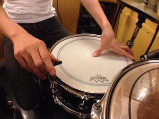 ドラムのチューニング