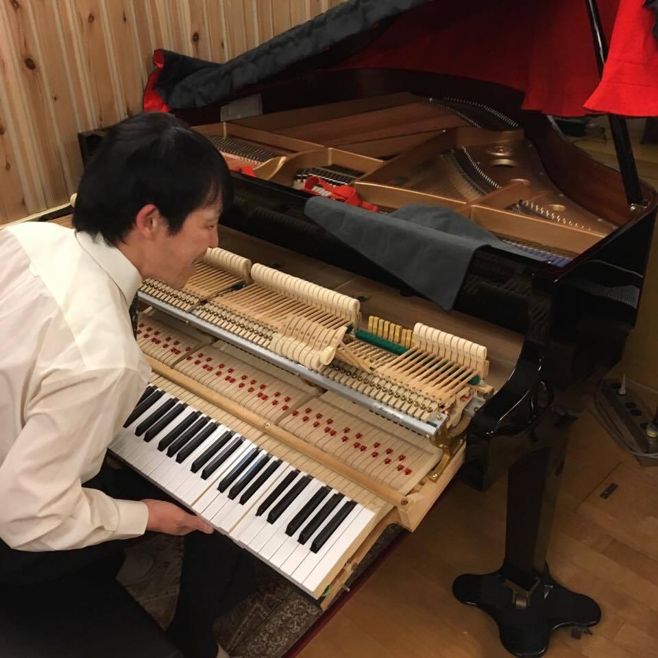 長谷川ピアノ調律事務所,KAWAI GM-1,