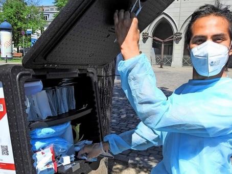 Fair Mask bietet mobile kostenlose Bürgerschnelltests rundum Berlin und Brandenburg an