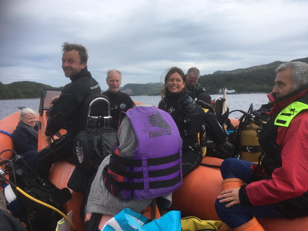 3. Volunteer CROMACH and Seasearch  dive