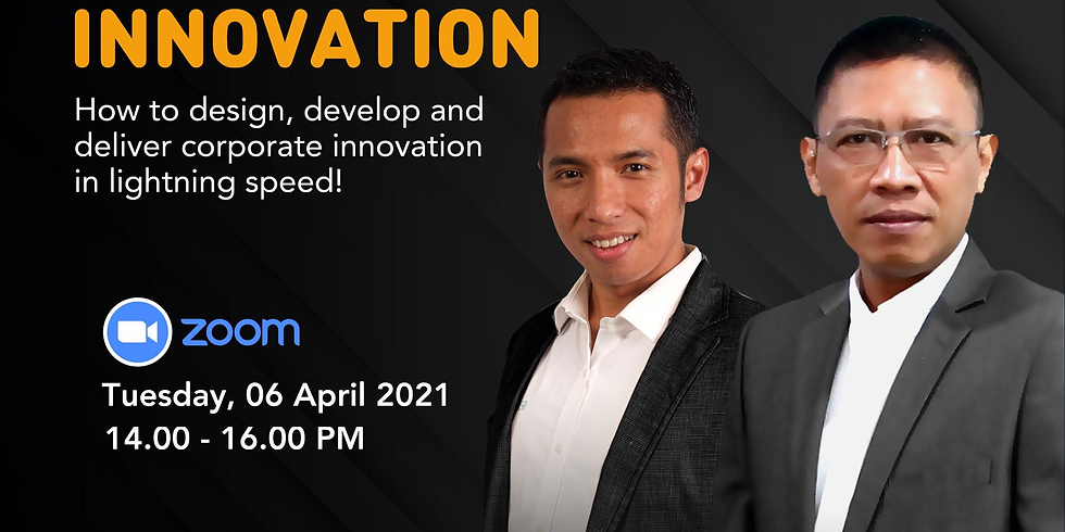 FAST INNOVATION. How to design, develop and deliver corporate innovation in lightning speed!