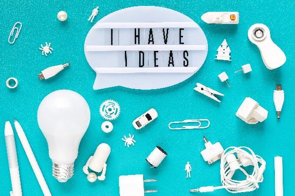 I have ideas - think like designer with design thinking
