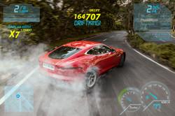 Drifting, Jaguar F-type Red, India