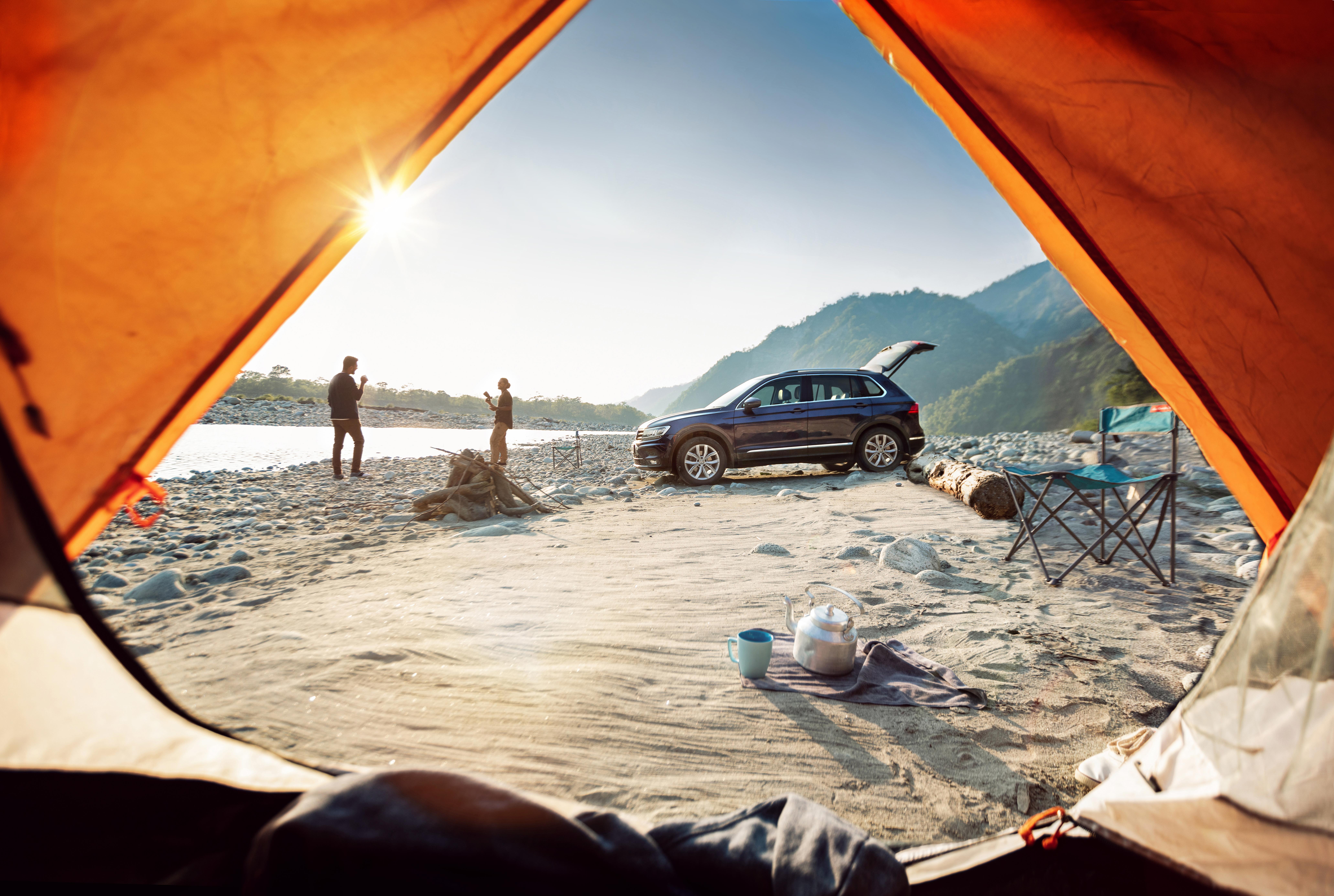 Tiguan Camping