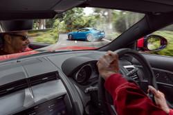 Jaguar F-type Drifting race