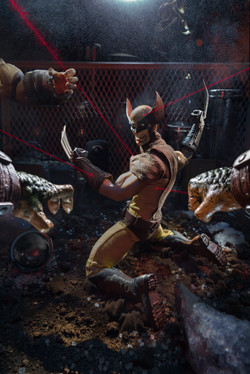 Cornered, Wolverine