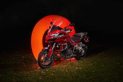 Ducati Multistrada, red
