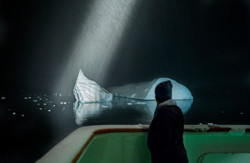 iceberg spotting, Antarctica
