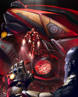 Ntorq Ft.Ironman-Thanos