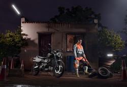 Ashish Raorane - Triumph scrambler 3