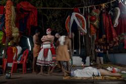 Mudiyettu artists prepare for show