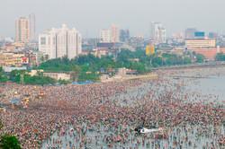 Ganesh festival, Chowpatty
